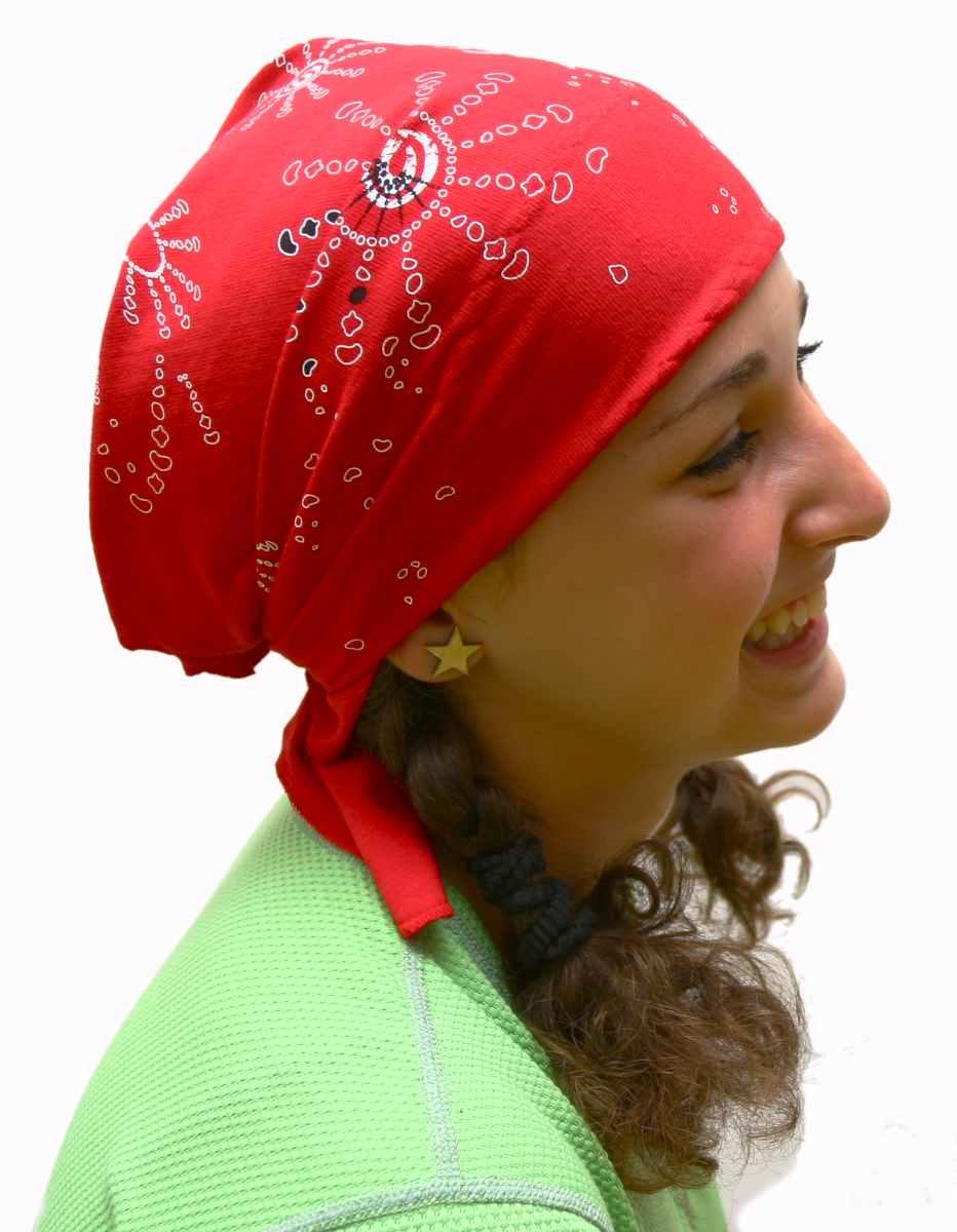 Sportovní vázací šátek trojúhelníkového tvaru na hlavu nebo na krk 9da0eb8994