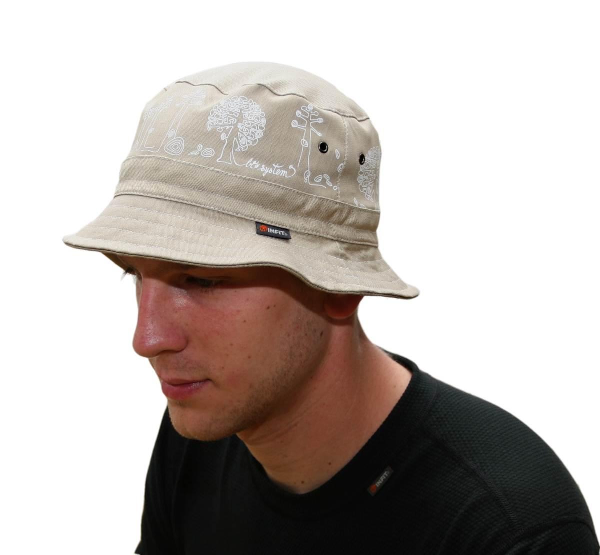 Lehký letní klobouk z bavlněné tkaniny. 7c8fd873aa