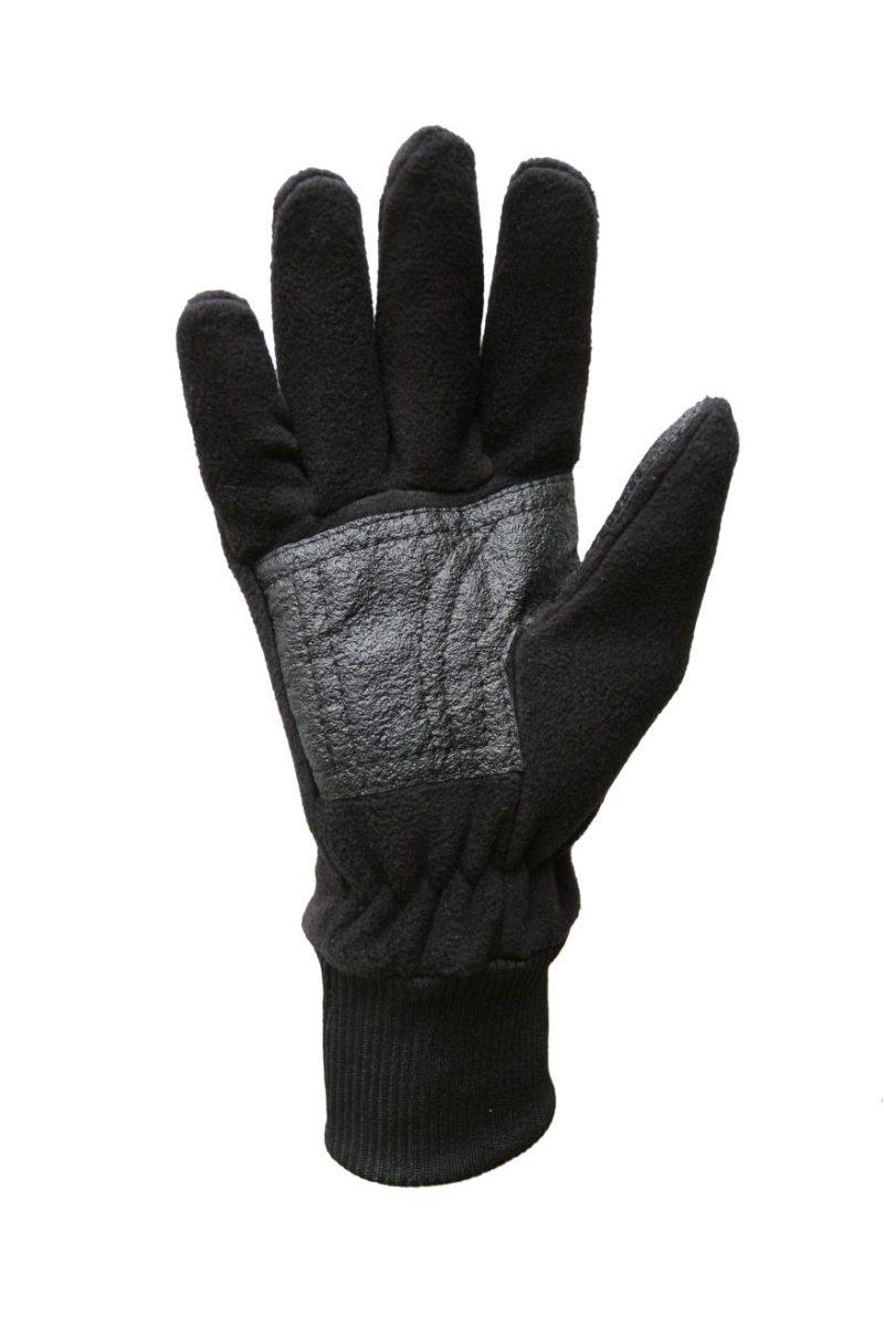 flísové prstové rukavice vyztužené v dlani a prstech Protektorem ac71289f7a