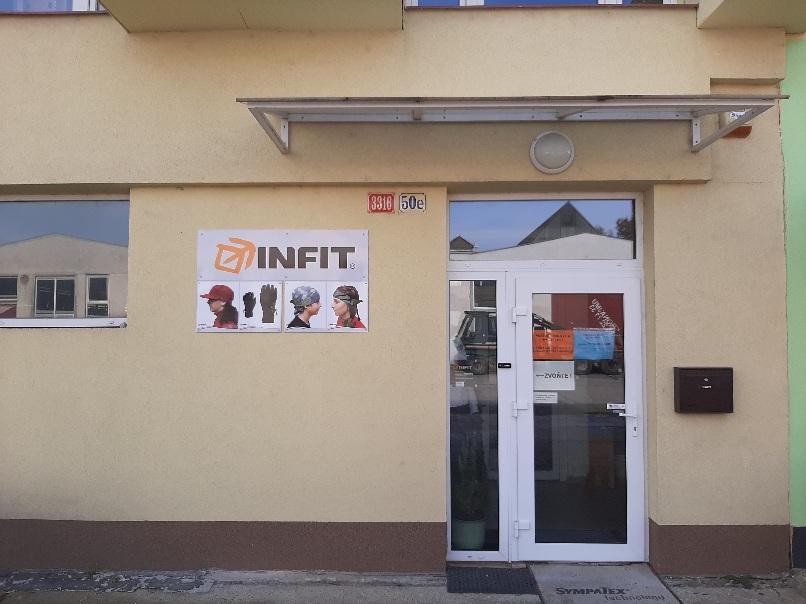 Infit výdejna e-shopu Uničovská 50e