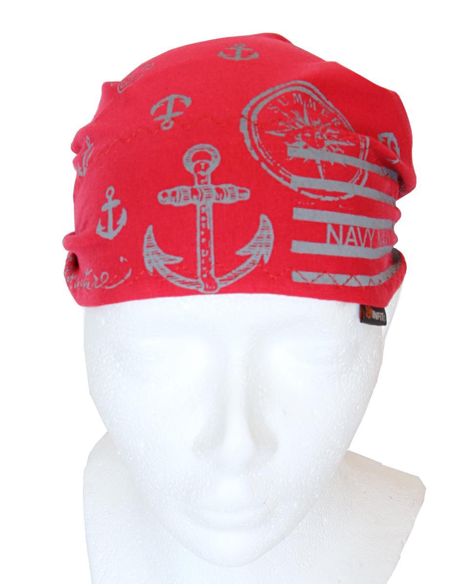 Dětský pirát trojúhelníkový šátek červený  6319fa141b