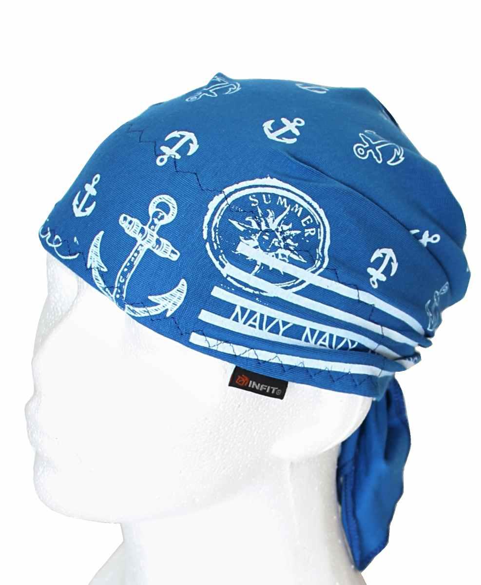 http   www.infit.eu katalog satky detske . Další obrázky produktu  Dětský  pirát trojúhelníkový šátek modrý vzor ... ff7262d180