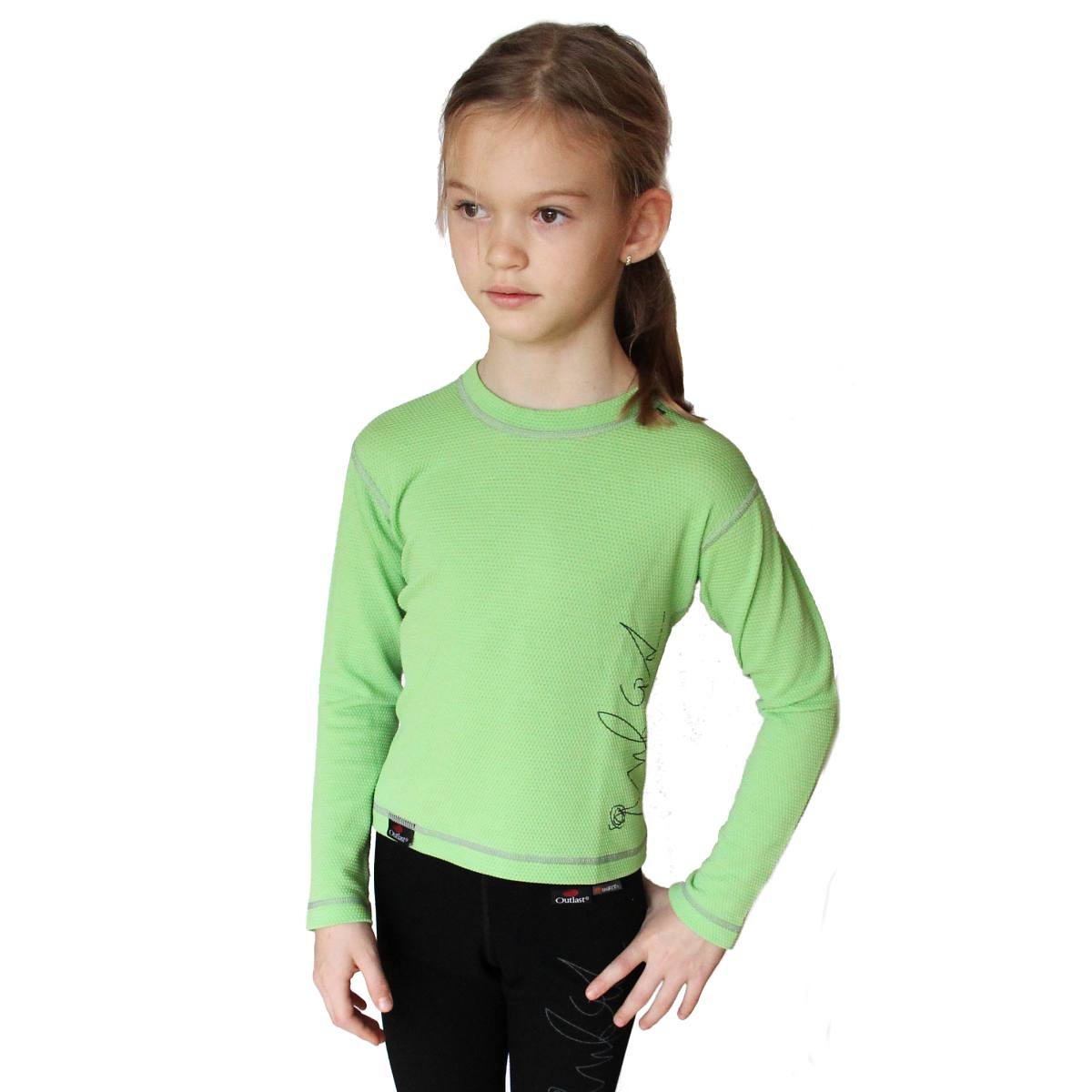 Outlast Plástve funkční dětské triko s dlouhým rukávem ae0b6b8b8d