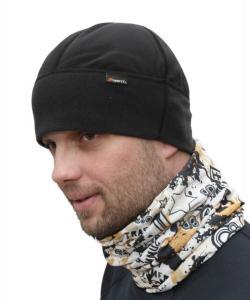 Ergonomicky tvarovaná termo čepička pod přilbu i helmu.