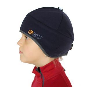 Funkční čepice na lyžování a kolo.
