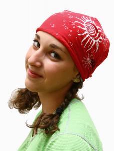 Sportovní vázací šátek trojúhelníkového tvaru na hlavu nebo na krk c56c7ce0f5