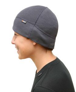 Čepička vhodná pod přilbu nebo helmu, ploché švy, speciálně na kolo pod přilbu n