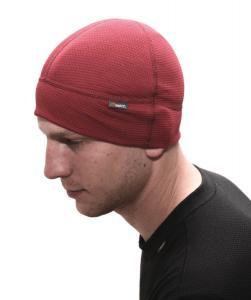 čtyřpanelová lehká a vzdušná čepička. speciálně na kolo pod přilbu nebo helmu