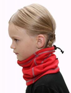 Wali   dětský nákrčník barva červená