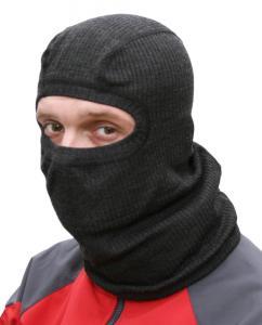 Podvlékací kukla pod helmu. Ploché švy.