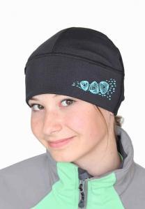 Nová dvouvrstvá čepice na sport.
