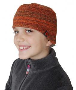 Dětská  dvouvrstvá čepička s funkční coolmaxovou podšívkou