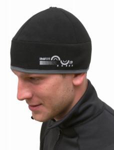větruodolná, paropropustná, soft shell čepice se sklápěcími kryty na uši