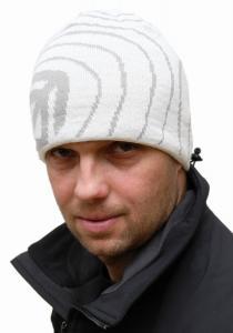 pletená čepice s funkční pleteninou Polycolon s moderním designem