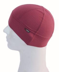 Šestipanelová ergonomicky tvarovaná čepička pod přilbu i helmu z Coolmaxu.