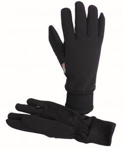 Teplé funkční soft shellové rukavice s membránou a Kevlarem.