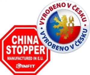 Všechny výrobky Infit vyrábíme v naší dílně a materiál má původ v EU.