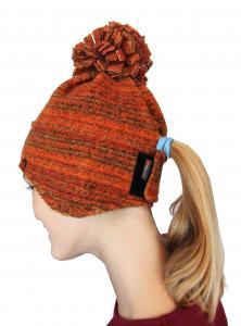 Nová čepice pro děti s otvorem na culík