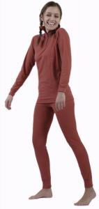 Coolmax Uni dámské spodky s dlouhou nohavicí barva losos