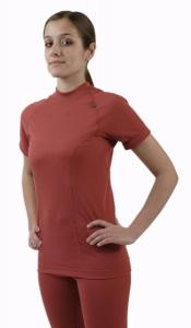 Coolmax Uni dámské triko s krátkým rukávem barva lososová