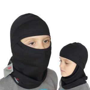 Termo kukla na lyže pod helmu pro děti.