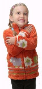 Mikinka pro děti od 3 let na jaro a podzim.