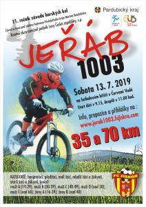 Infit sponzoroval MTB maratón Jeřáb 1003 v Červené vodě 13.7.2019