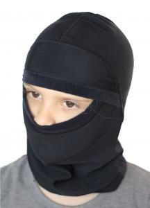 Dětská podvlékací kukla pod helmu. Vhodná i pro použití brýlí.