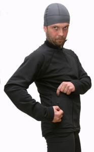 Lombardia   pánský rolák se zipem černý