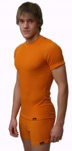 Outlast 1 pánské funkční triko s krátkým rukávem oranžové