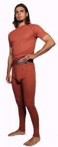 Coolmax Uni  pánské spodky s dlouhou nohavicí barva losos