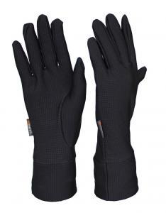 Běžecké rukavice Yavan jsou jednovrstvé elastické prstové rukavice.