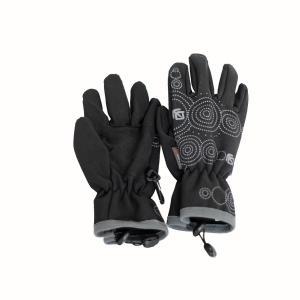 Teplé funkční soft shell rukavice s membránou a Kevlarem pro děti od 4 let.