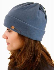 Šáločepice   čepice -  maska na obličej  - nákrčník barva kouřově modrá