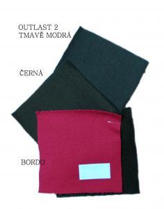 Infit používá Outlast® - speciální materiál s termoregulační funkcí