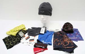 Ukázky Infit výrobků na zakázku - čepice, šátky, čelenky, rukavice atd
