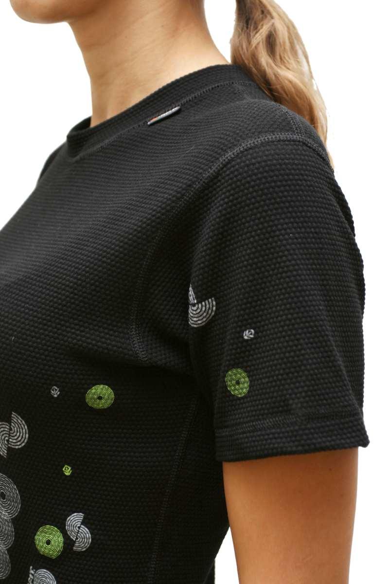 Outlast Plástve dámské triko s krátkým rukávem 2 černé (sportovní ... dd3b124e55