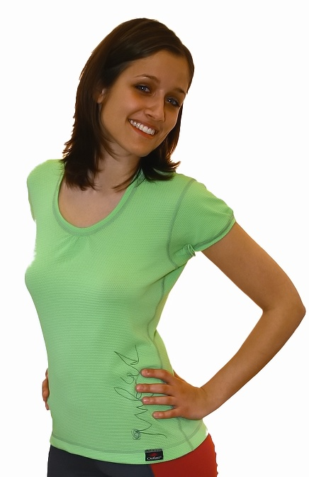 Outlast Plástve dámské triko s krátkým rukávem 1 černá  261232413b