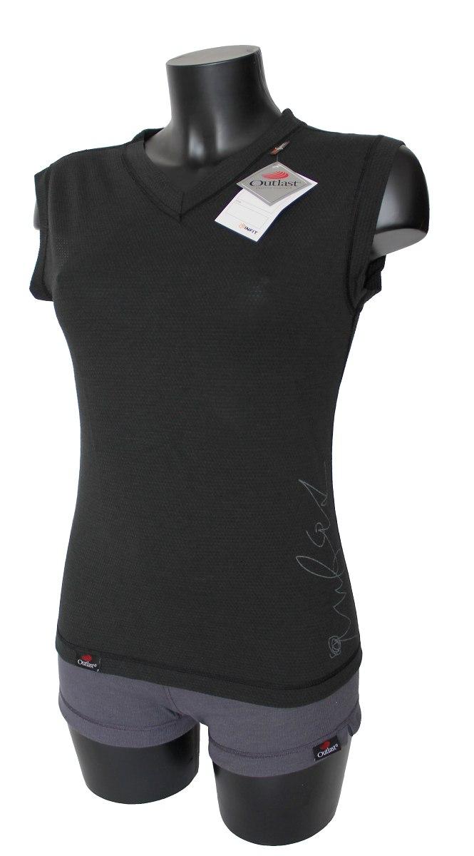 Outlast Plástve dámské triko bez rukávů černá  486d03f7e4