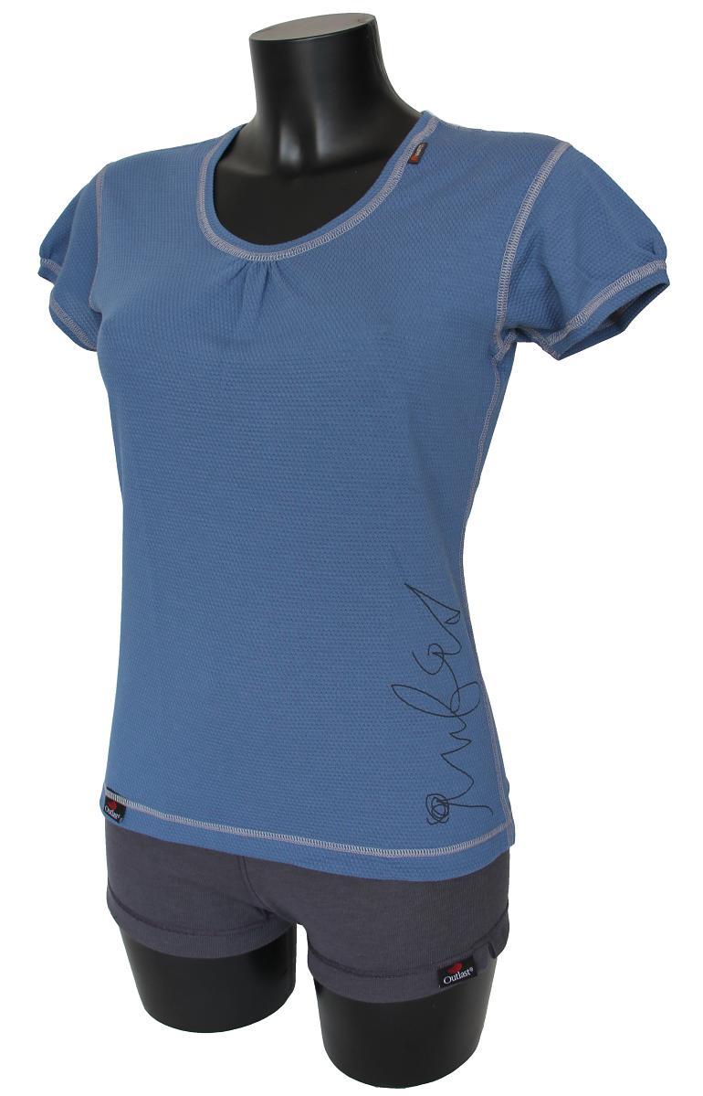 Outlast Plástve dámské triko s krátkým rukávem 1 kouřově modrá  679c916610