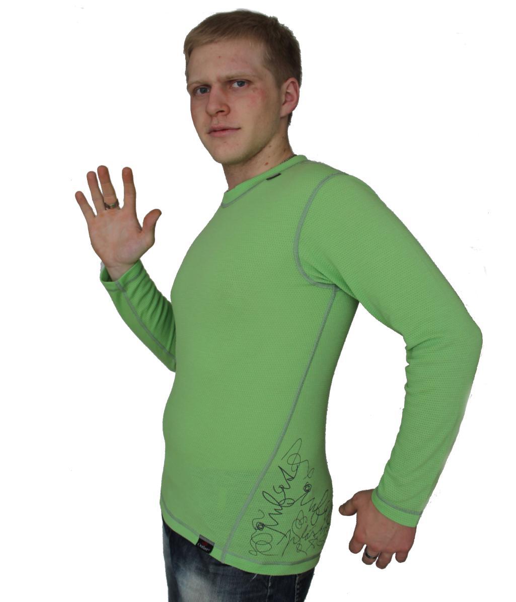 Outlast Plástve funkční pánské triko s dlouhým rukávem c6acb763d2