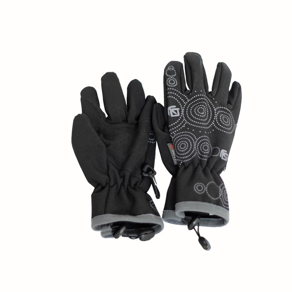 Teplé funkční soft shell rukavice s membránou a Kevlarem pro děti od 4 let. 460c633322