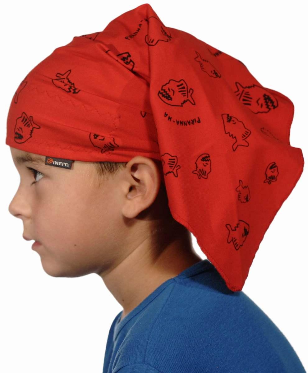 Dětský pirát trojúhelníkový šátek na sport a volný čas. Pro děti najaro až  léto. 2b863ab2da