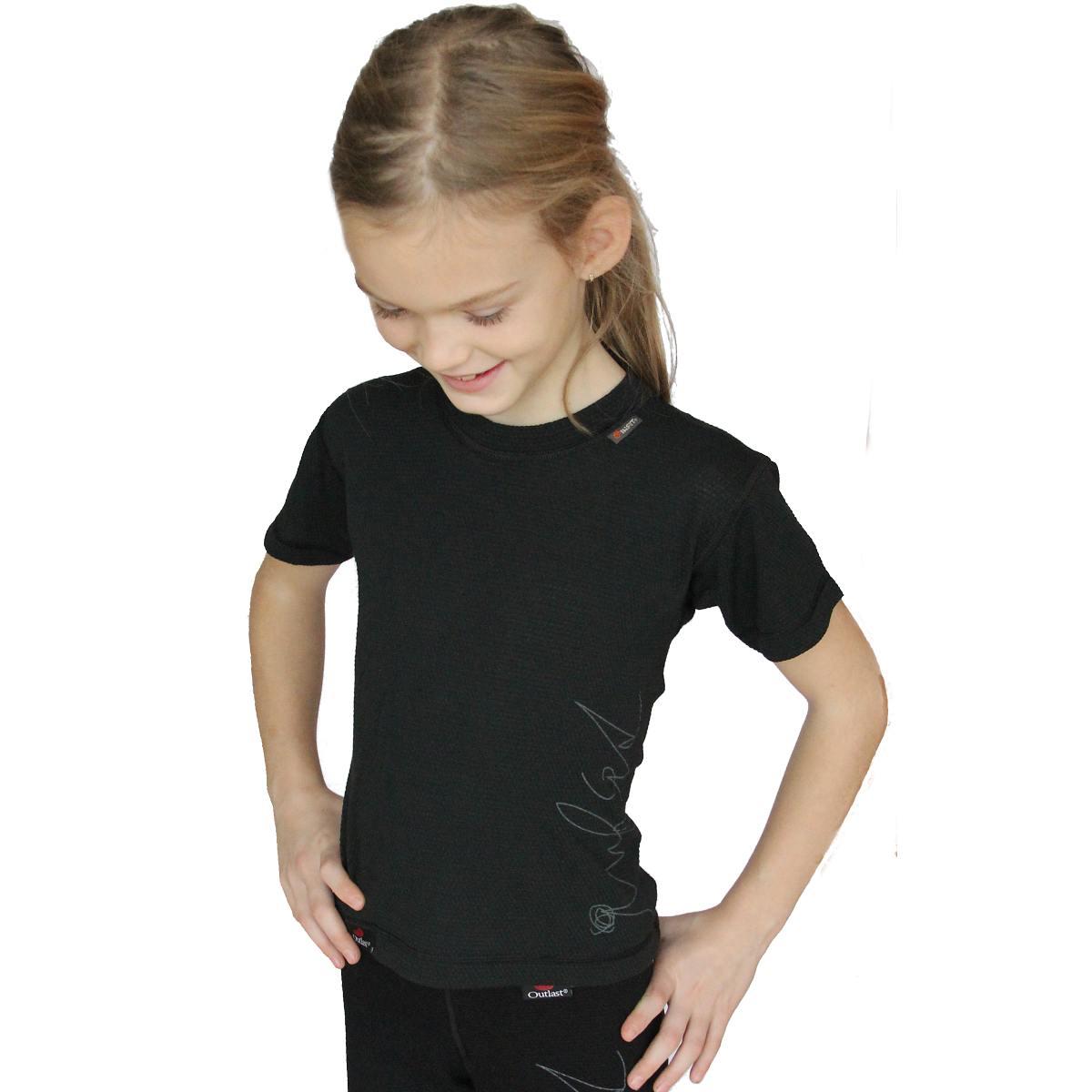 Outlast Plástve funkční dětské triko s krátkým rukávem 78e406cedb